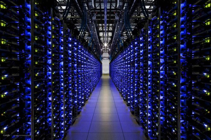 Google Veri Merkezi (37 Fotograf)