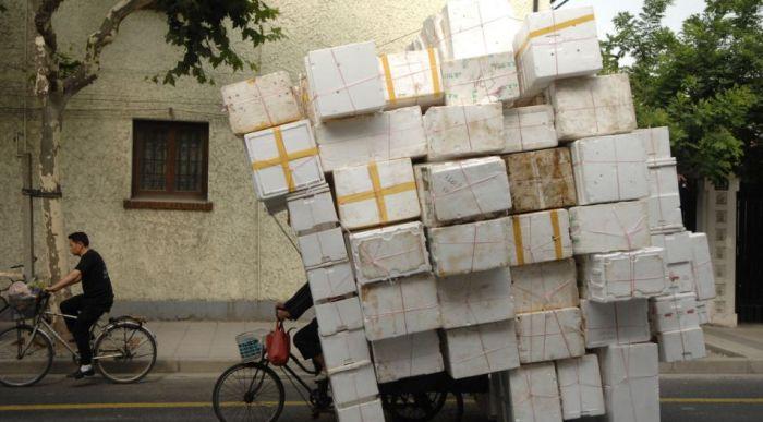 Çin'de Taşımacılık (26 Fotograf)