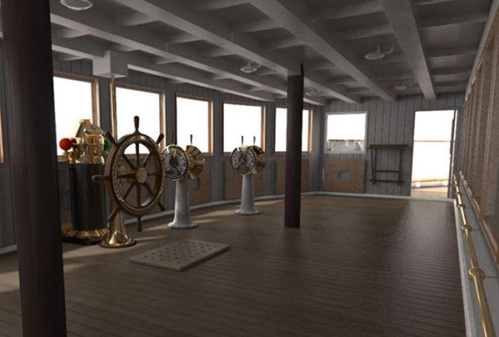 Titanik Gemisi'nin Kopyası Titanik 2 (20 Fotograf)
