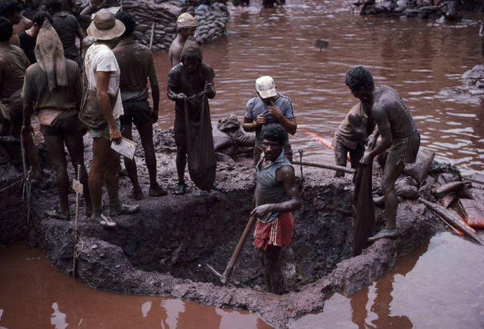 Brezilya Serra Pelada Altın Madeni (25 Fotoğraf)