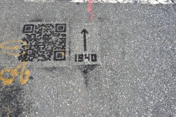 Интересная задумка на улицах Нью-Йорка (3 фото)