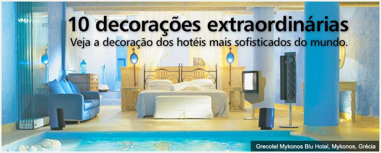 10 hotéis com decorações incríveis