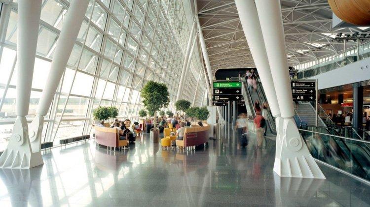 Аэропорт в Цюрихе