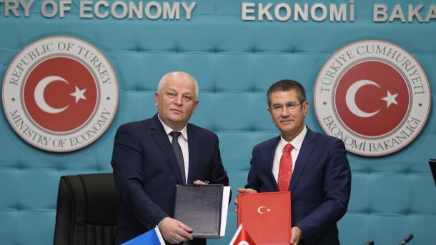 Торговля между Турцией и Украиной может вестись в национальных валютах