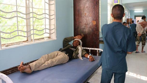 Cholera-Epidemie im Jemen