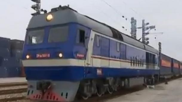 Güterzug-Verkehr zwischen Europa und China