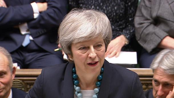 Abstimmung zu Brexit-Deal:Mayauf Konfrontationskurs mit Parlament