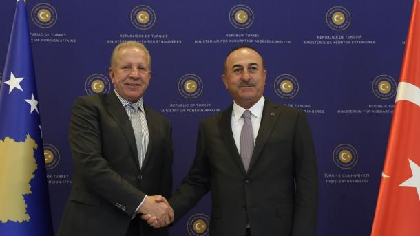 Pacolli në Turqi, takohet me Ministrin Çavushoglu   TRT  Shqip