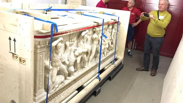 Саркофаг Геракла возвращен в Турцию