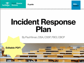 Free Cybersecurity Incident Response Plan Template
