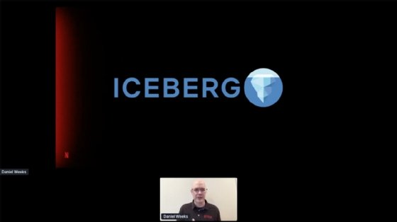 Netflix engineering manager for big data compute at Subsurface virtual conference