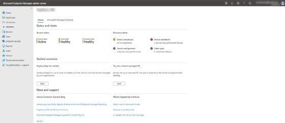 Microsoft Endpoint Manager-Verwaltungsportal