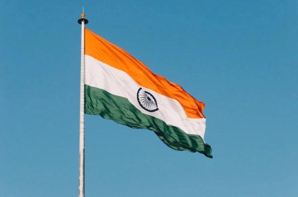 Índia bandeira