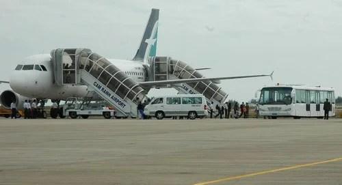 Chó xâm nhập đường băng làm trễ chuyến bay tại Cam Ranh - Ảnh 1.