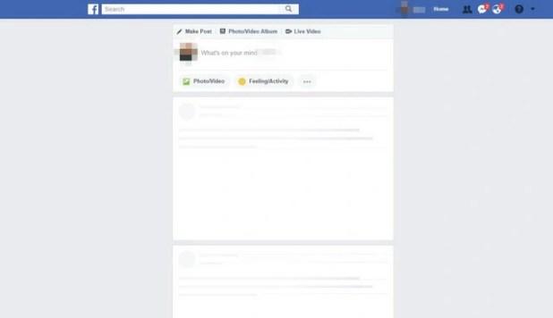 Facebook rớt mạng ở nhiều nơi - Ảnh 1.