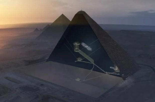 Phát hiện căn hầm khổng lồ đầy bí ẩn trong lòng kim tự tháp Ai Cập - Ảnh 1.