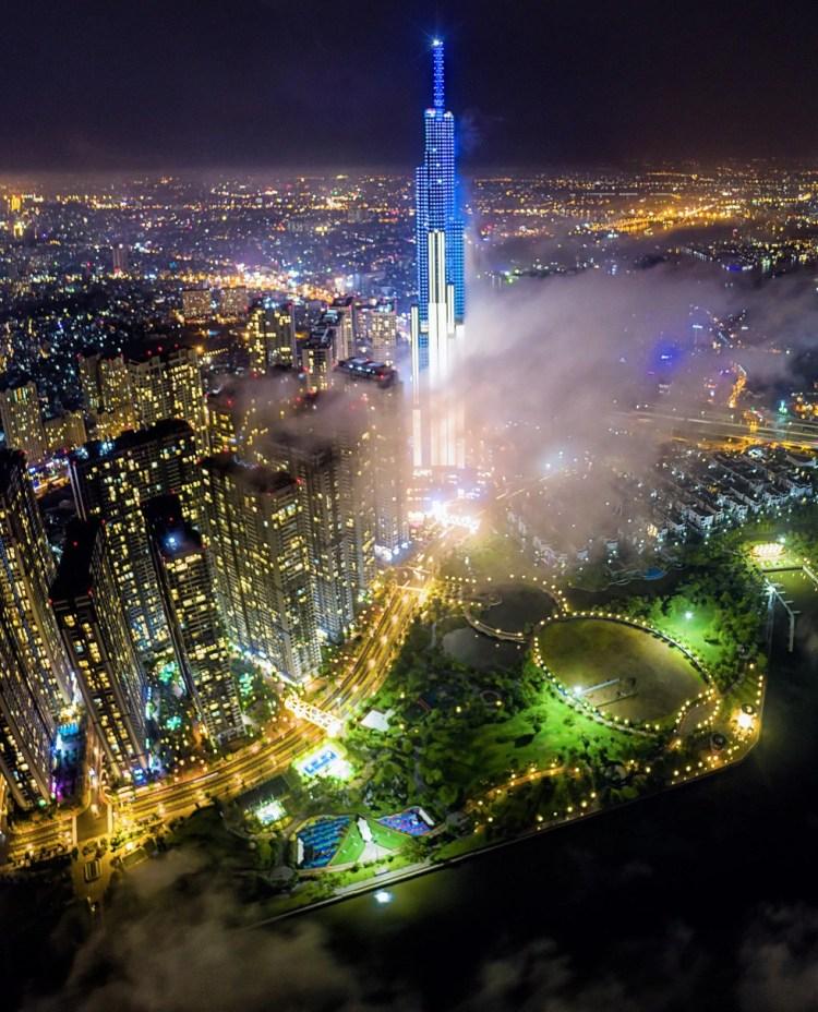 Bộ ảnh Sài Gòn tuyệt đẹp chụp từ trên cao - Ảnh 8.