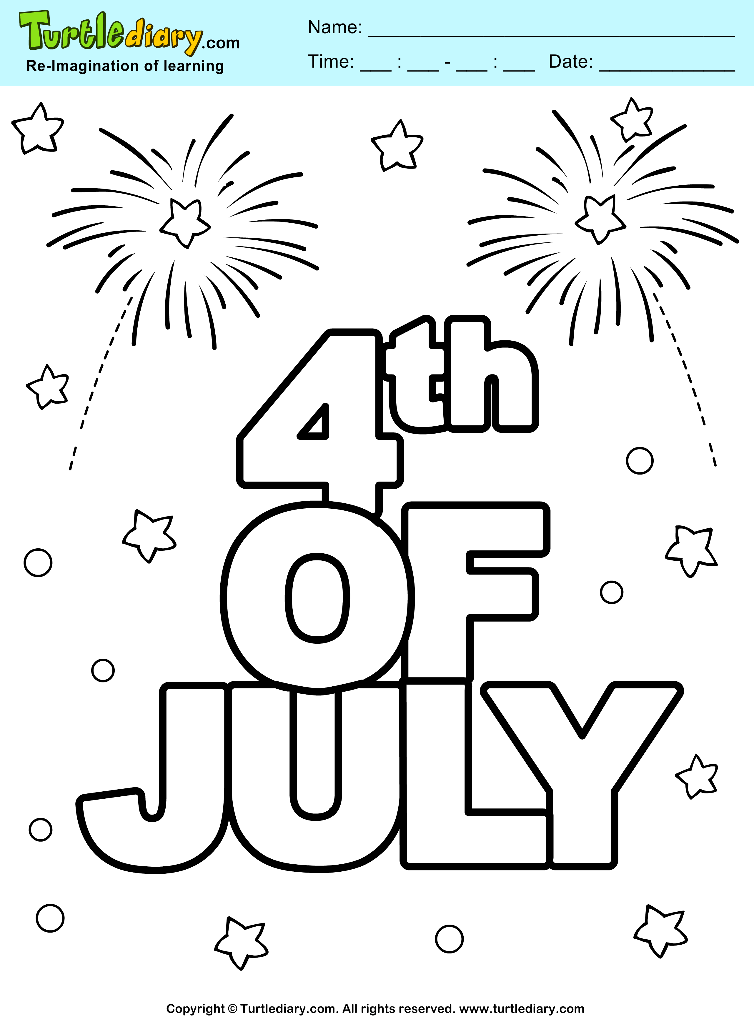 Independence Day Math Worksheets