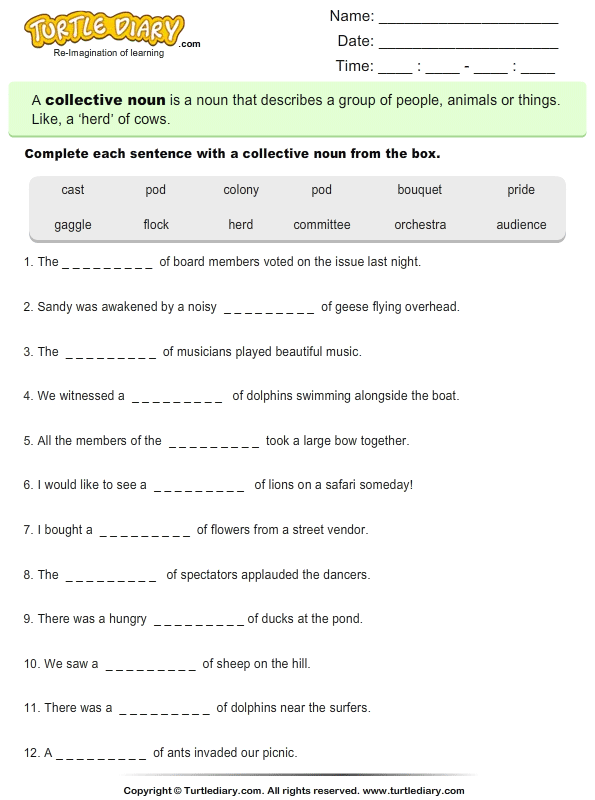 Complex Sentence Worksheet Answers
