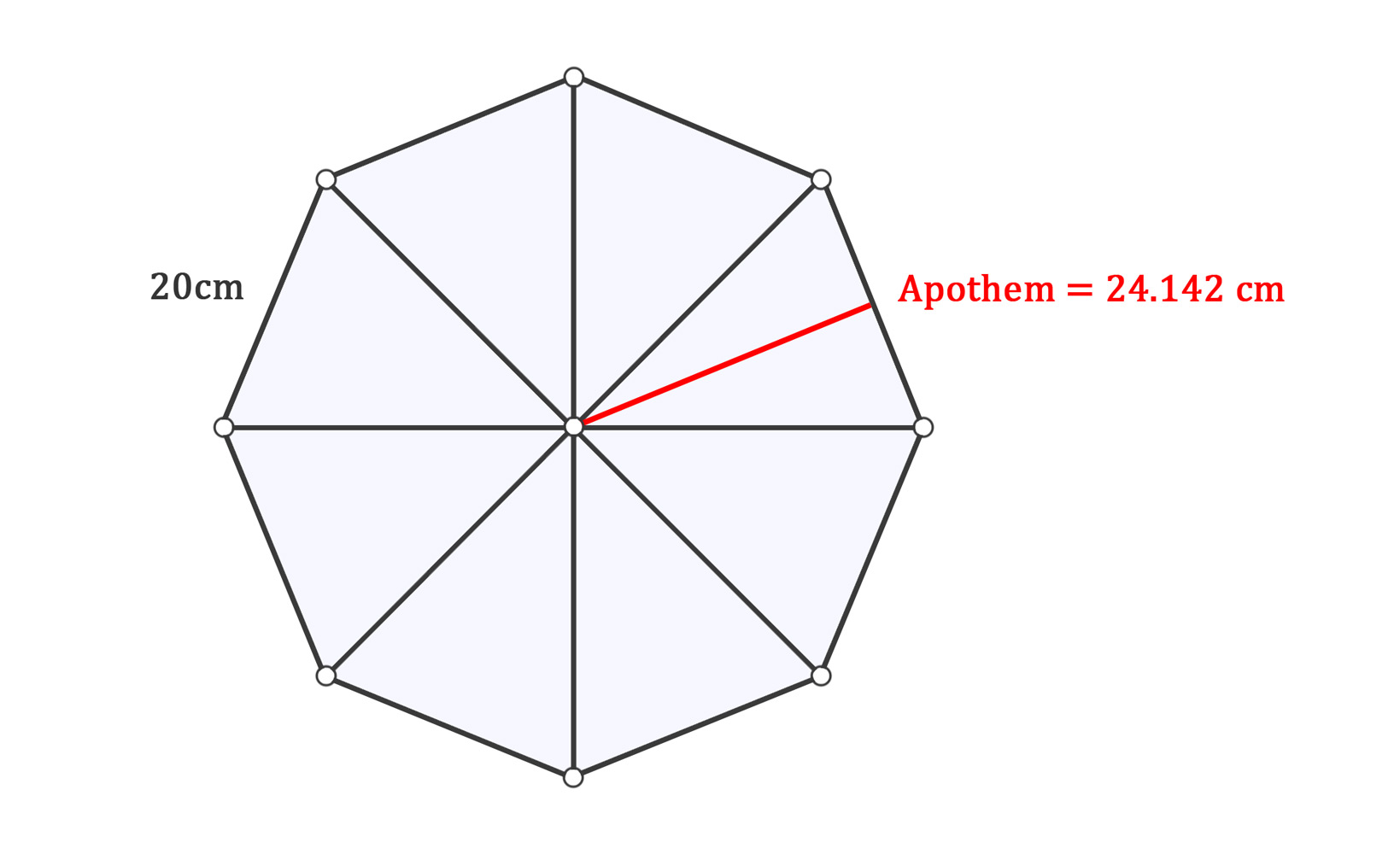 How To Find The Area Of Regular Polygons With Examples