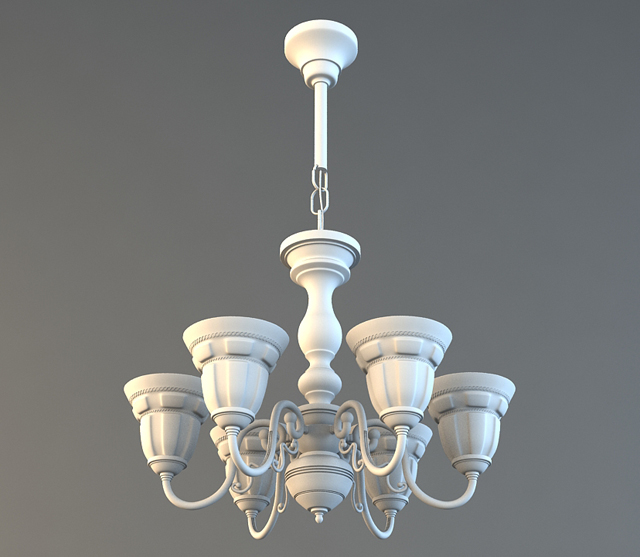 In This Tutorial You Ll Learn How To Model A Decorative Chandelier Studio Max Using Basic Tools And Poly Modeling Techniques