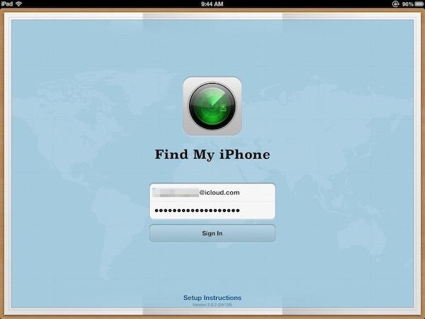 Vous pouvez également suivre votre Mac via l'application Localiser mon iPhone.