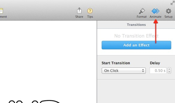 Click Animate.