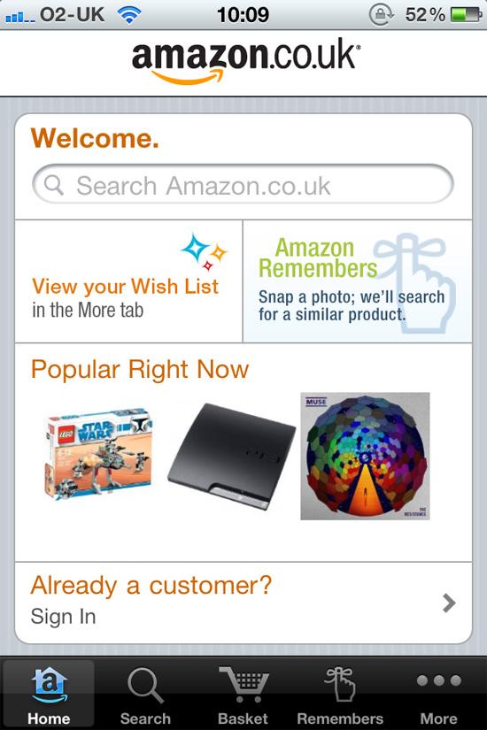 Mobile Design Analyzing The Amazon UK App