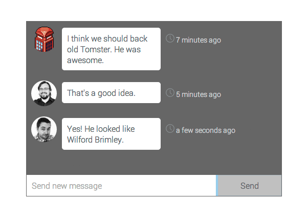 Ember Group Chat Component