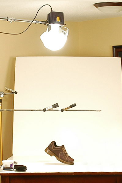 shooting a perfectly lit product photo