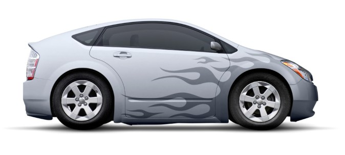 Part I  How to Add Flaming Decals to a Modern Car Design Final Click
