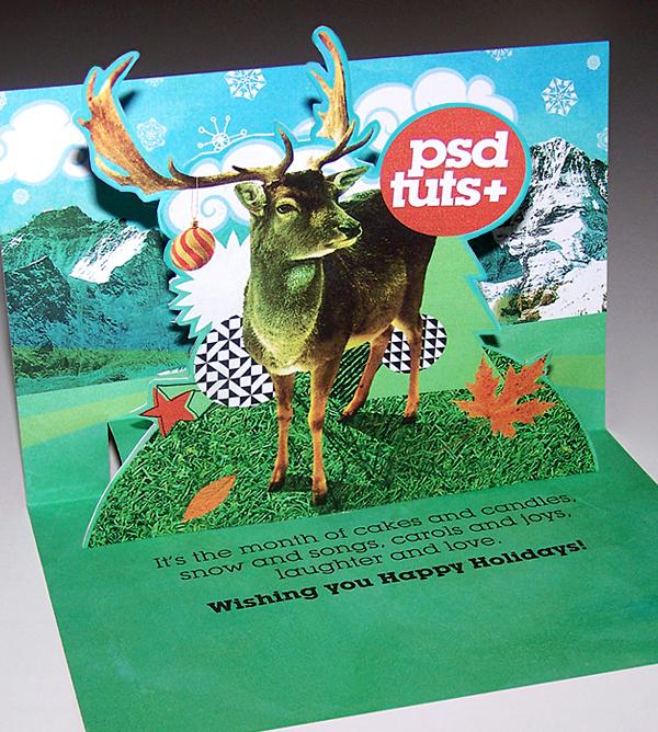Create A Novel Pop Up Holiday Card