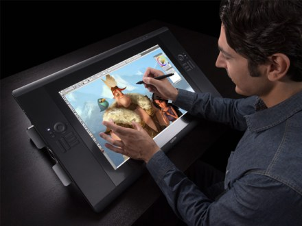 Wacom Cintiq, Display tablet