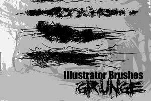 Illustrator Grunge Brushes