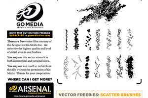 14 Free Scatter Brush and How To