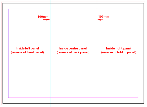 Quick Tip Creating A Tri Fold Template In Indesign Cs5