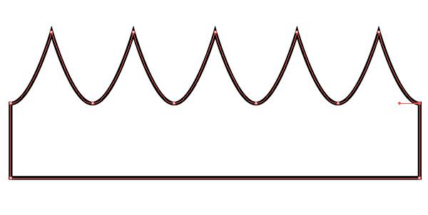 Queens Crown Template. crown cupcake sleeve template. 1. teaching ...