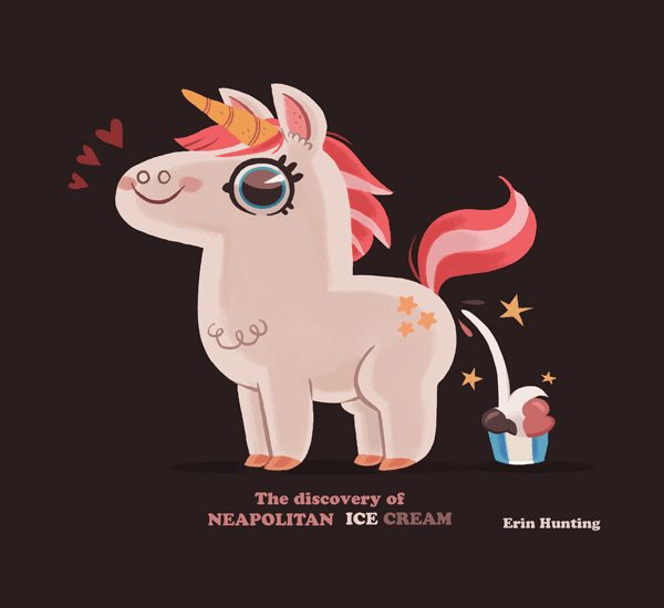 Neapolitan Unicorn by Erin Hunting
