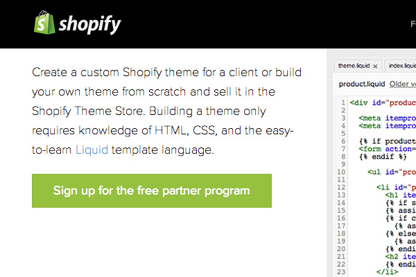 A Web Designers Introduction To Shopify - Shopify template language