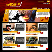 Create a Comic Book Themed Web Design, Photoshop to HTML ...