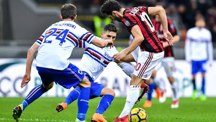 Serie A Milan-Sampdoria 1-0, il tabellino