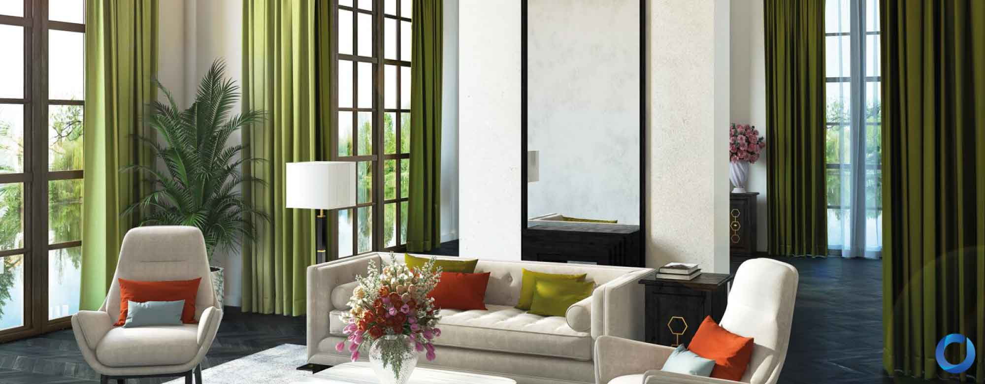 modern curtain designs for contemporary
