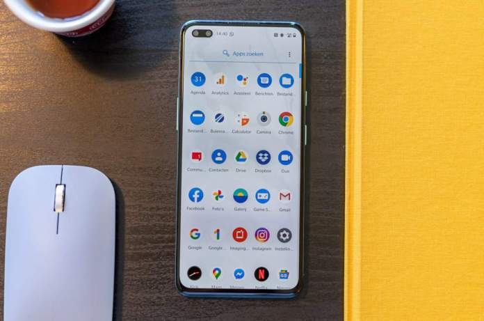 OnePlus Nord review interface