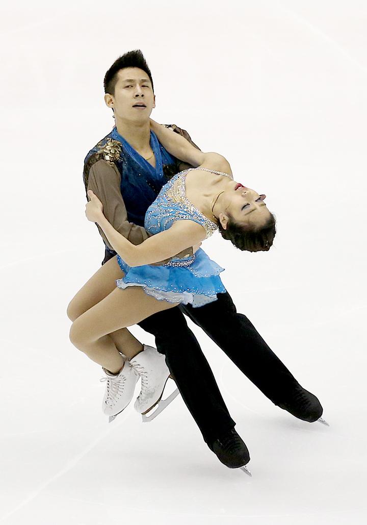 四大洲滑冰賽 隋文靜與韓聰摘金   體育   聯合影音