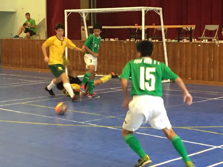 澳洲5人足球來交流 臺灣選手展現實力   綜合   聯合影音