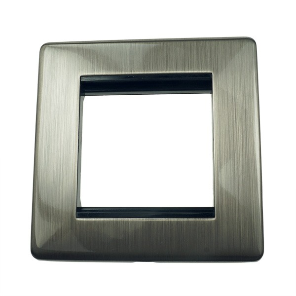 Satin Nickel Picture Frames