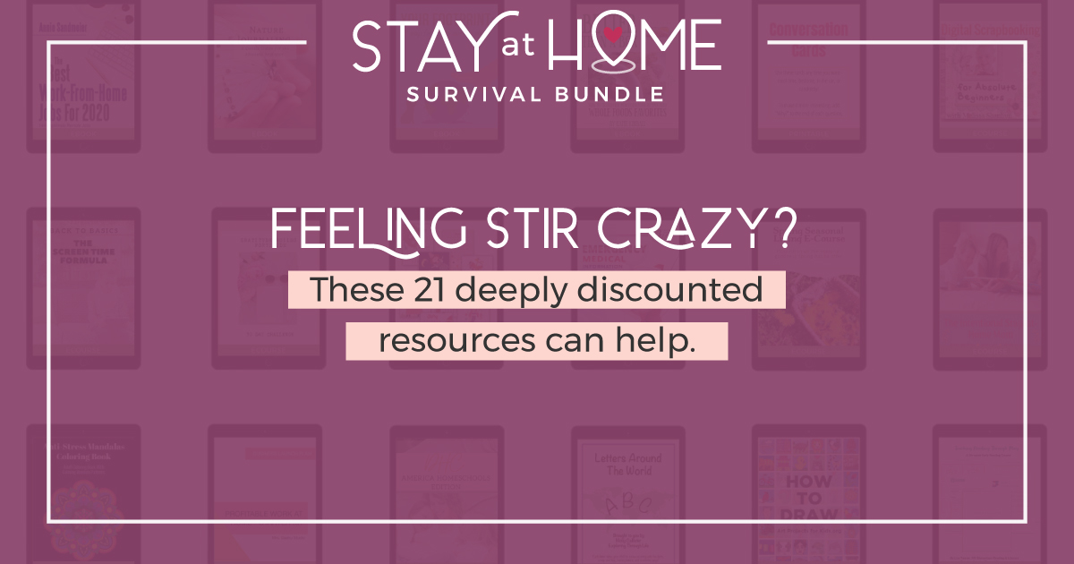 Stay at Home Survival Bundle 2020