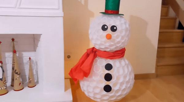 Natale 2016 Come Creare Un Pupazzo Di Neve Con I Bicchieri