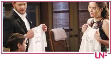 Beautiful anticipazioni: Liam e Hope finalmente sposi con due testimoni speciali