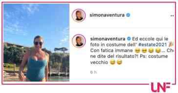 """Simona Ventura mostra la sua prova costume: """"Che ne dite?"""" (Foto)"""
